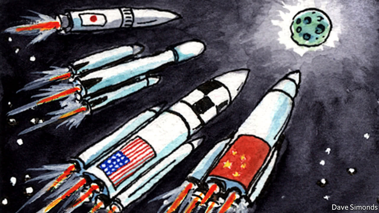 How American and Soviet Compete to Win in Space Race